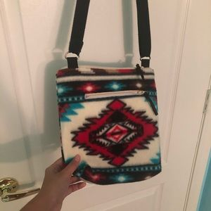 Southwest Pattern Crossbody Purse/Bag